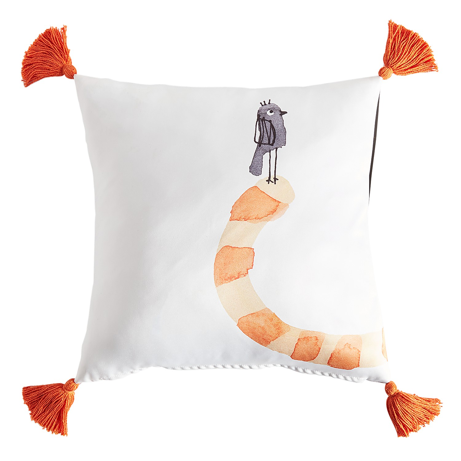 Cats Wrap Around Pillow with Tassels