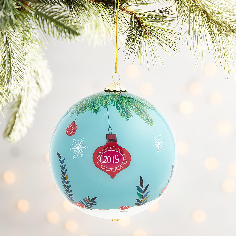 Li Bien Santa Ornament