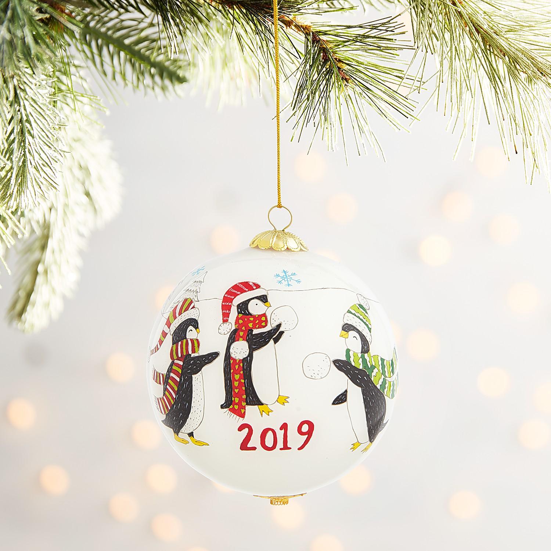 Li Bien Penguins Ornament