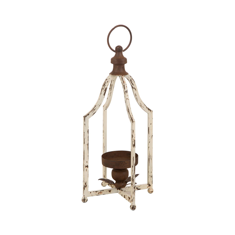 """8"""" Small Farmhouse Metal Lantern"""