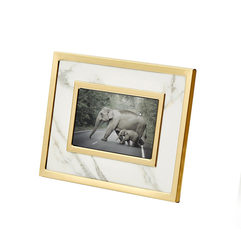 White Gold Photo Frame