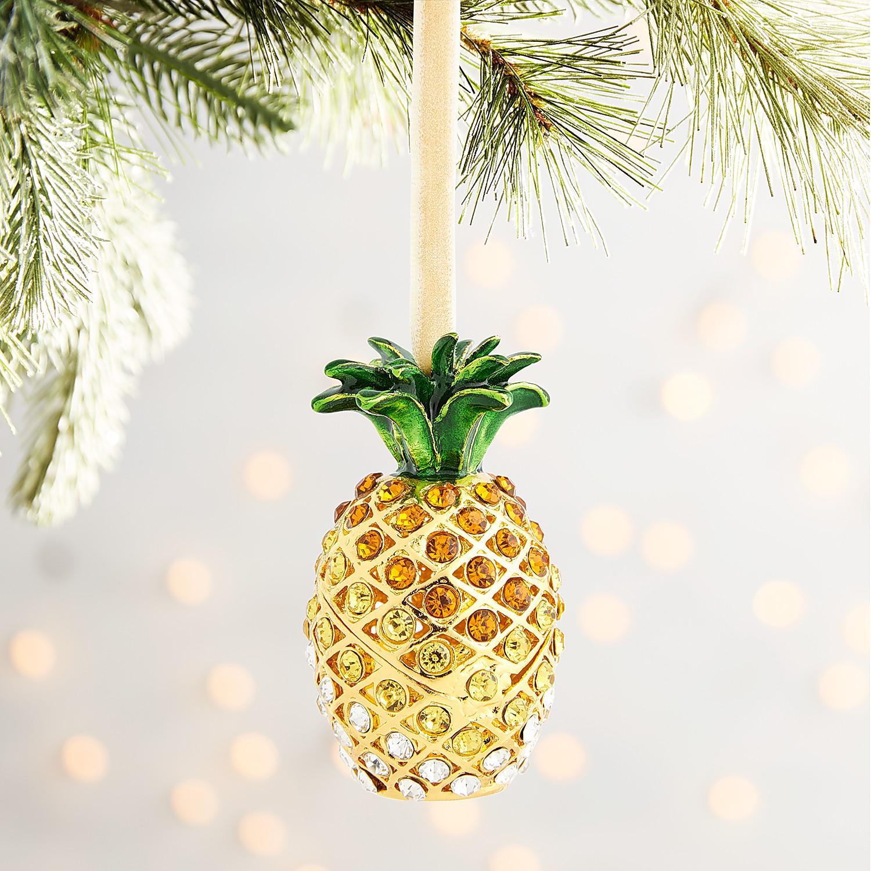 Cloisonne Pineapple Ornament