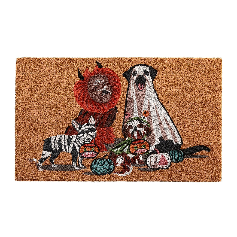 """Costume Pups 2'6""""x1'6"""" Doormat"""