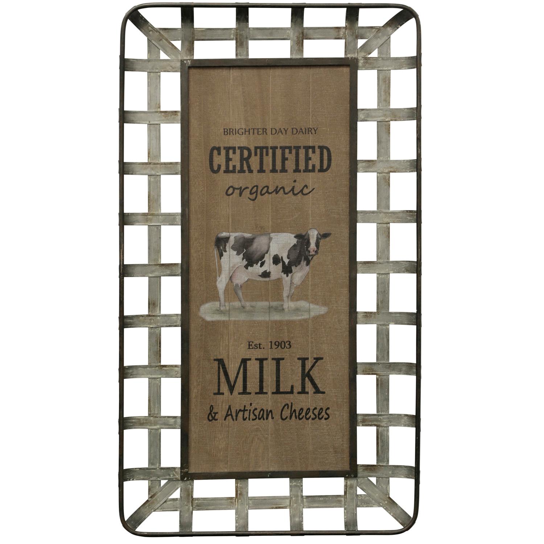 Farmhouse Milk & Cheese Wall Art
