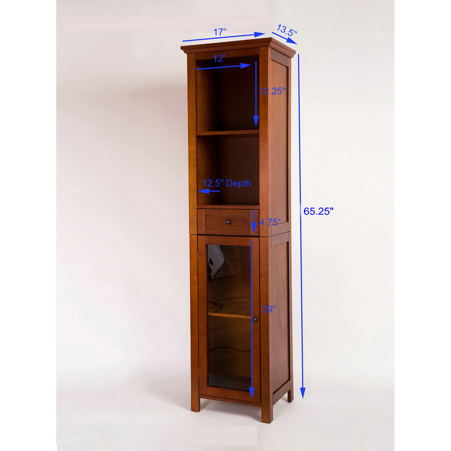 variation thumbnail of Wooden Floor Storage Cabinet