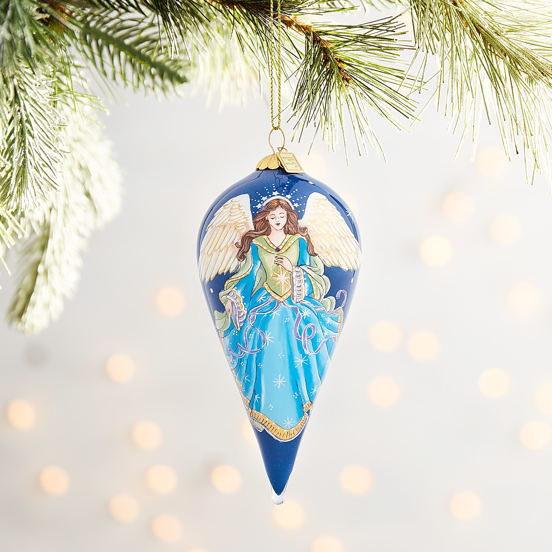 Li Bien Angel Drop Ornament