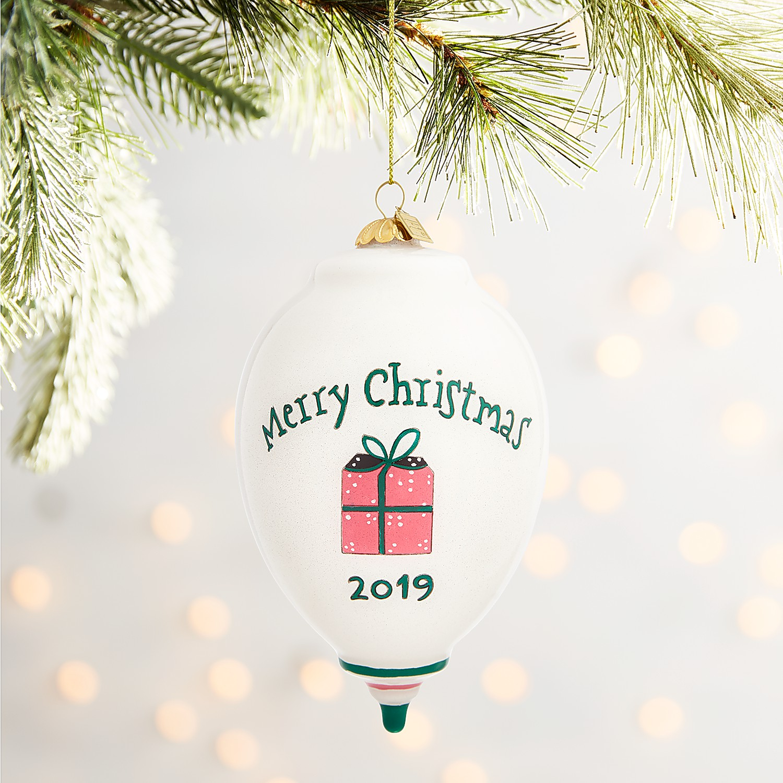 Li Bien Tree & Presents Drop Ornament