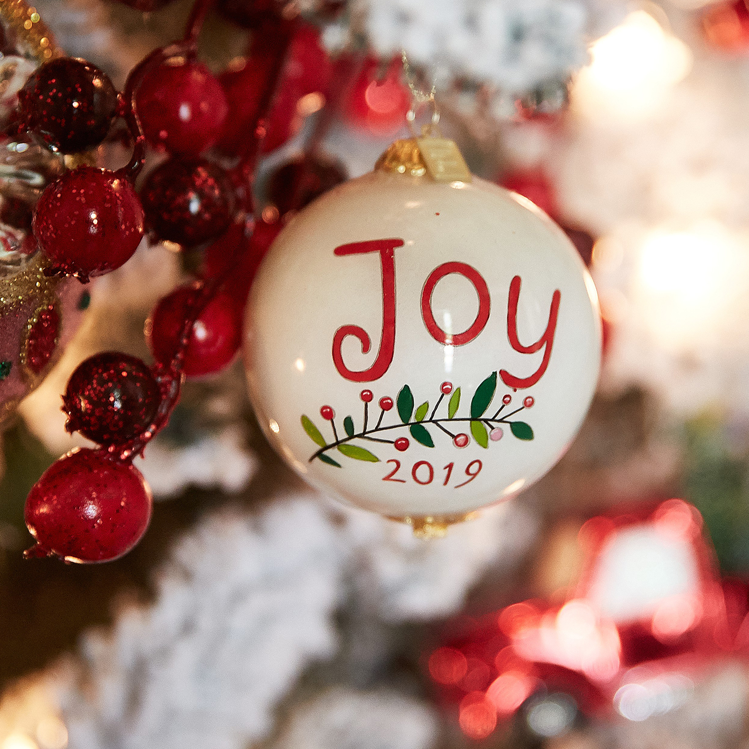 Li Bien Joy Bird Ornament