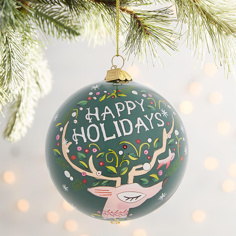 Li Bien Holiday Deer Ornament