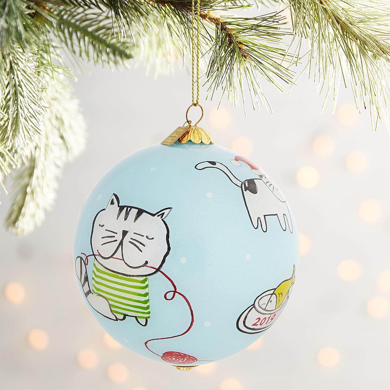 Li Bien Cat Ornament