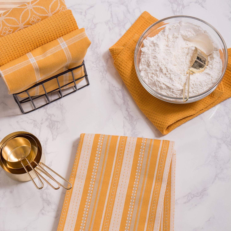 Yellow Dishtowel & Dishcloth Assorted Set