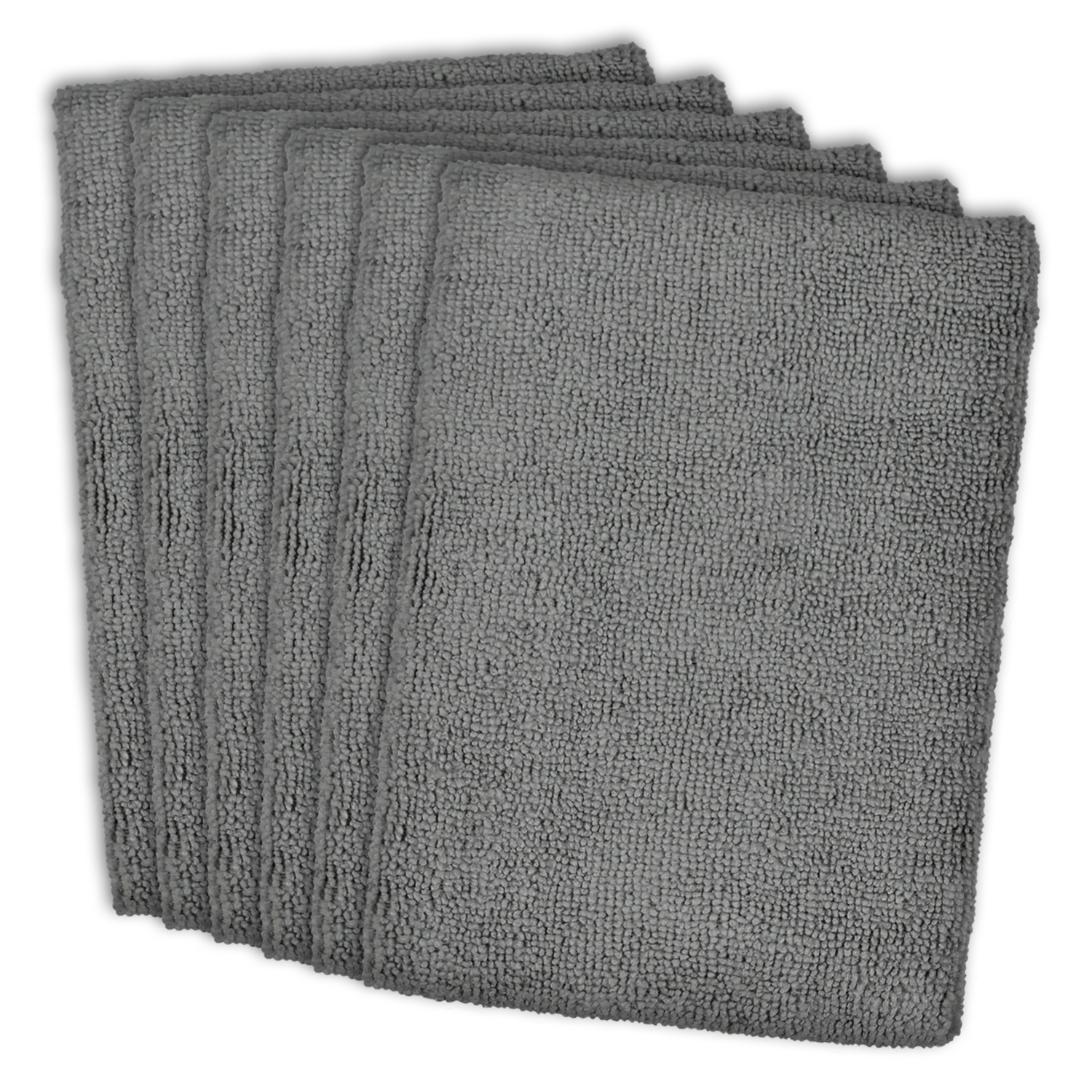 Gray Microfiber Dishtowel Set