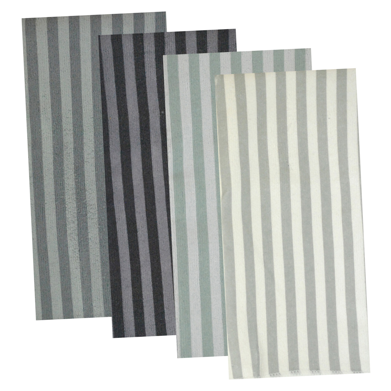 Striped Shades  Microfiber Towel Set