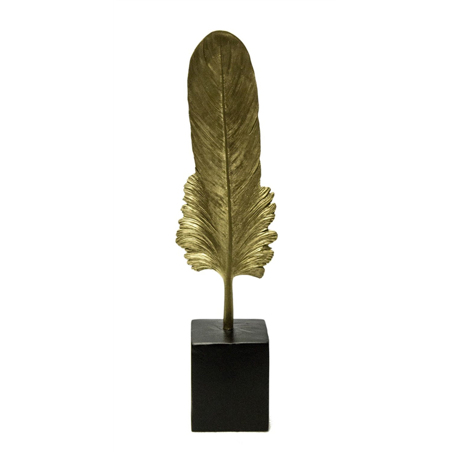 Golden Feather on Base