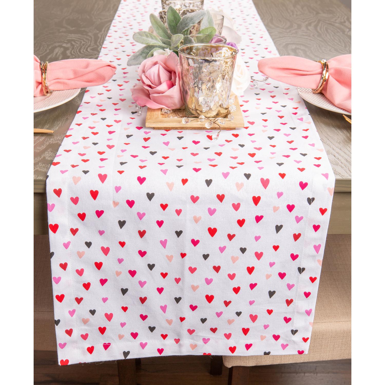 """Sending Love 72"""" Table Runner"""