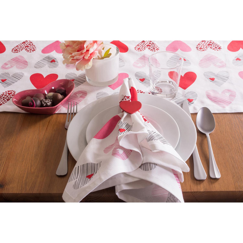 Valentine's Day Lots Of Love Napkin Set 6