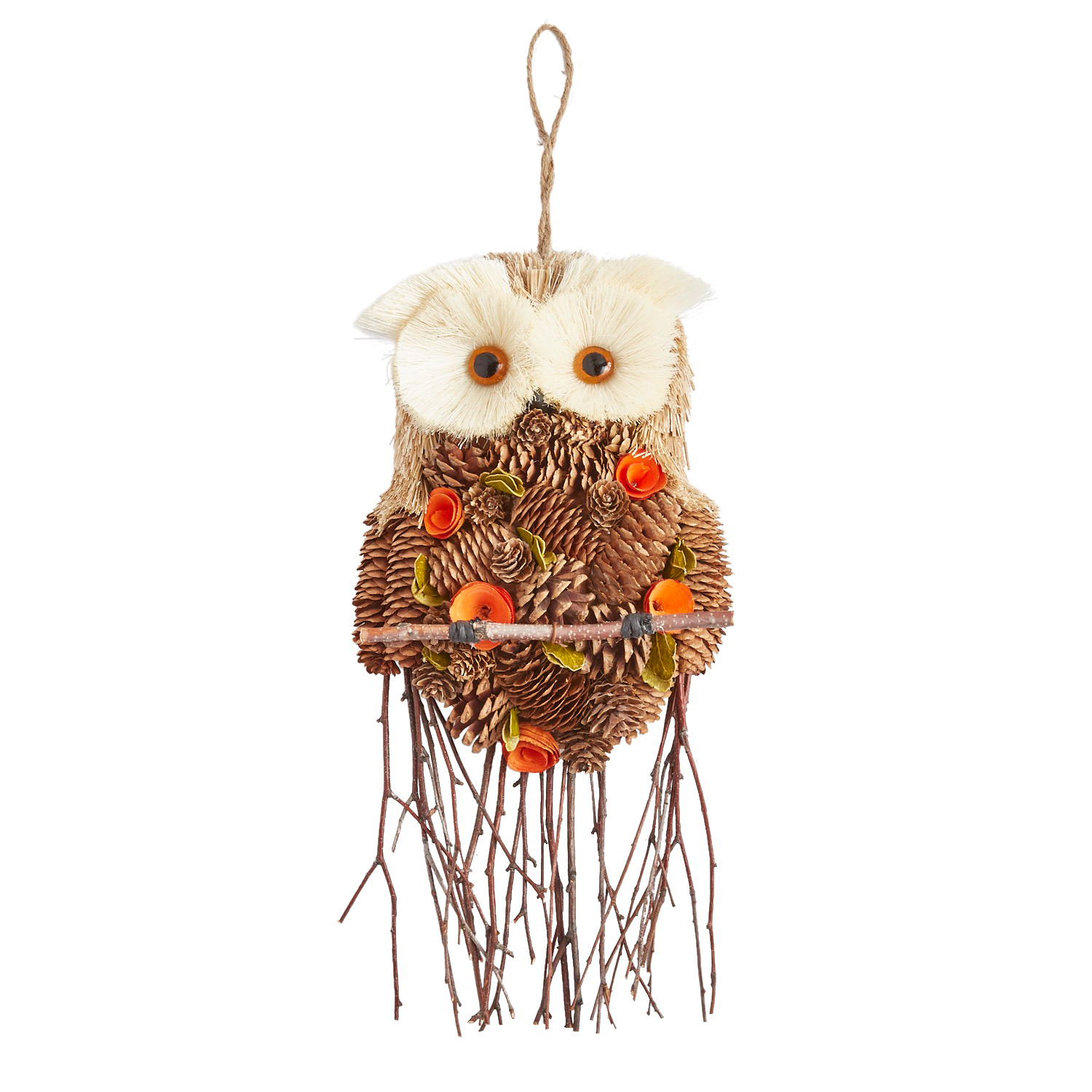 Natural Owl Door Hanger