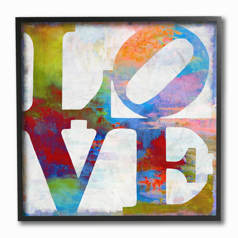 Graffiti Love Framed Art