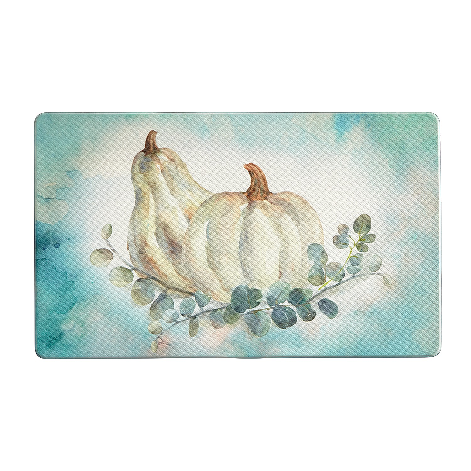 Pumpkin Harvest Kitchen Rug