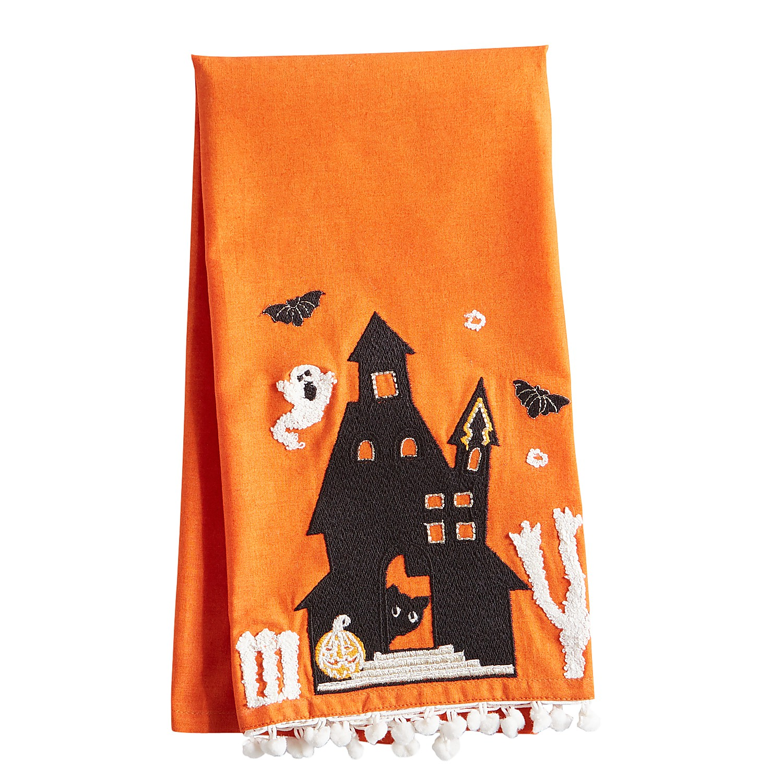 Haunted House Tea Towel