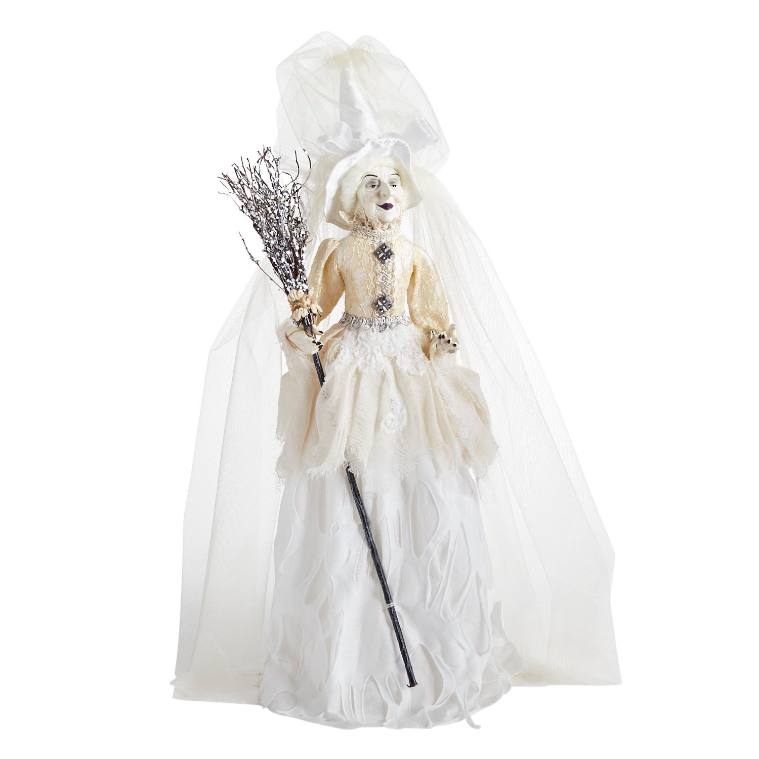 Bianca Follyfrock the Witch in White Dress