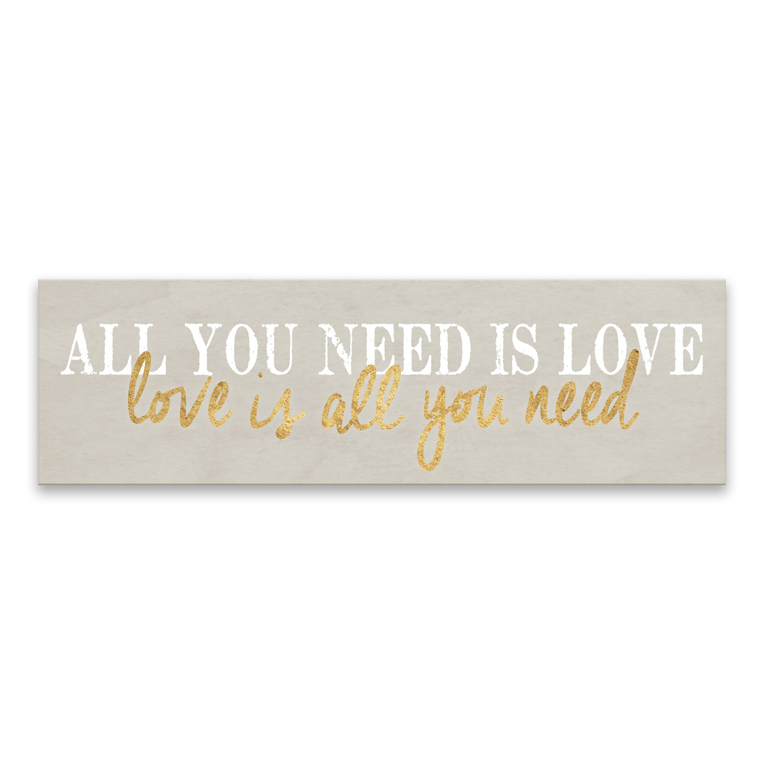 All You Need Is Love Canvas