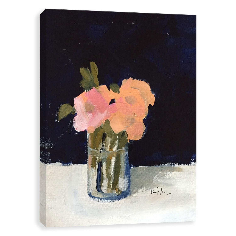 Roses Hand Embellished Canvas
