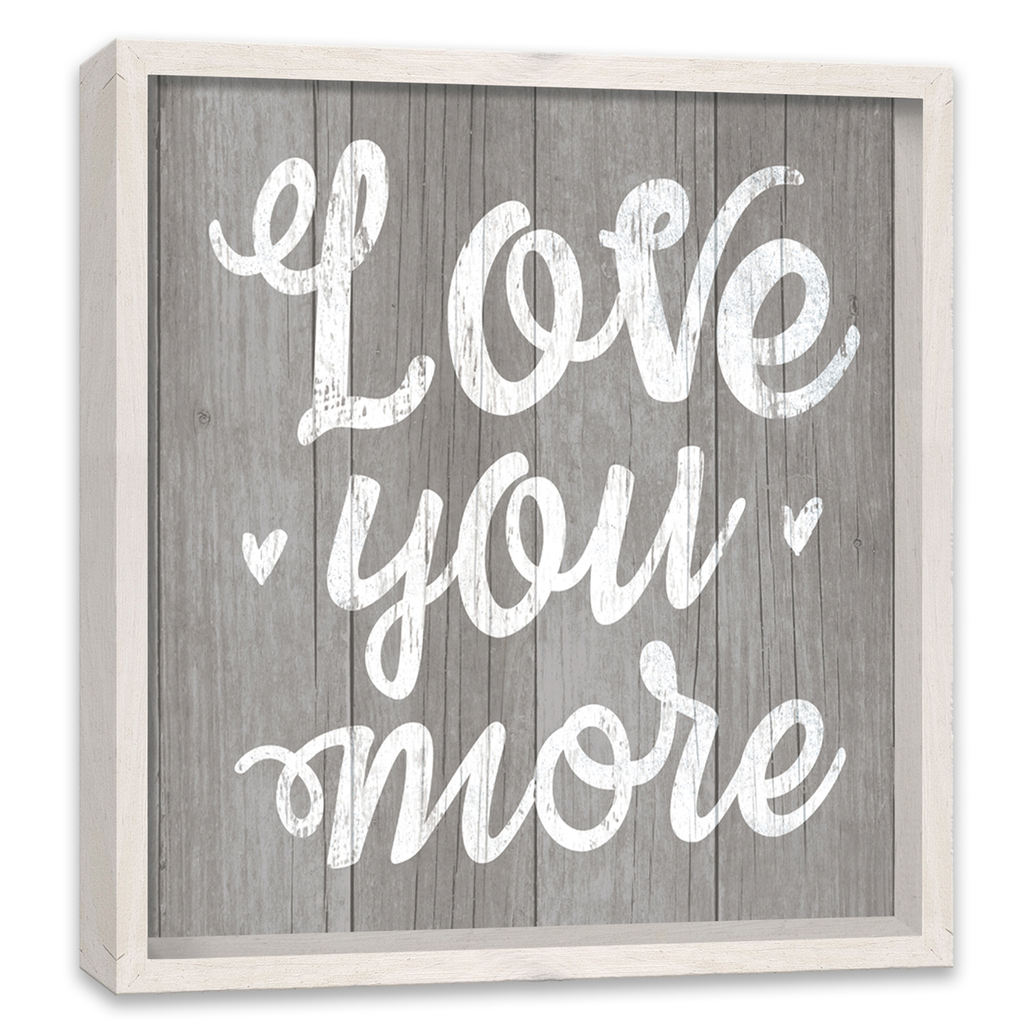 Love You More Recessed Box