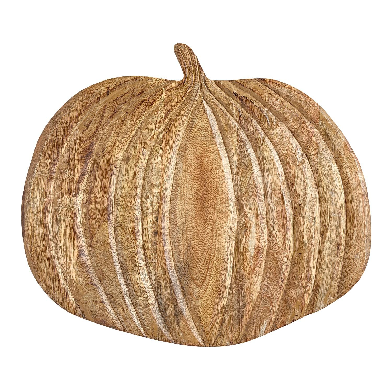Wood Pumpkin Serve Board