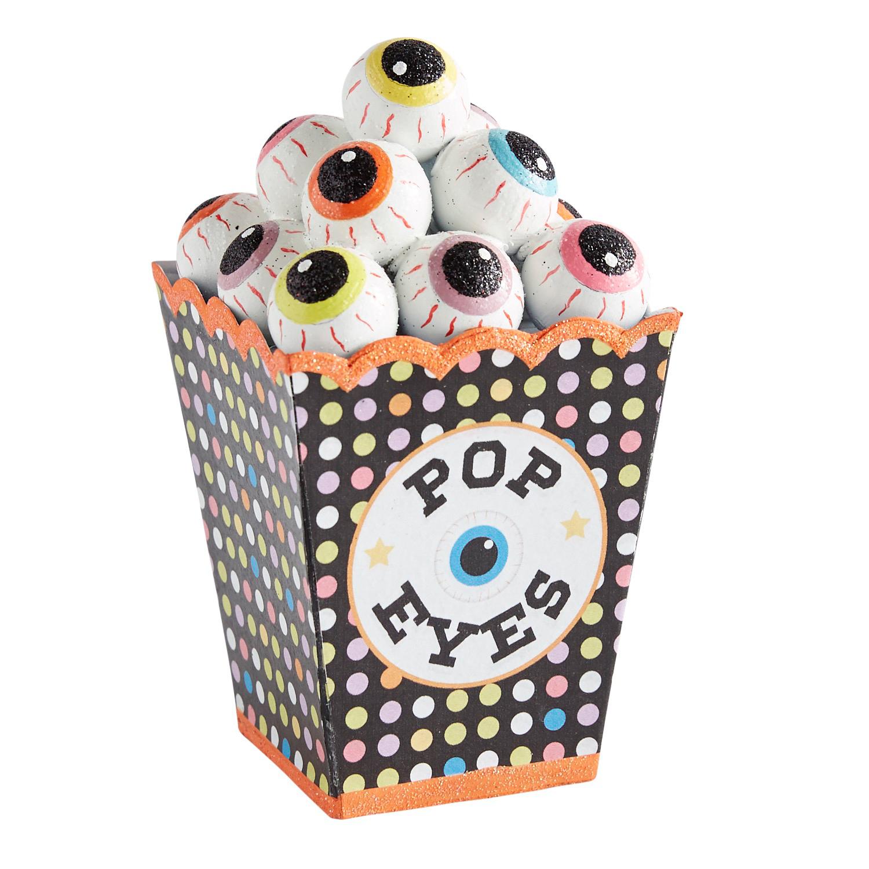 Pop Eyes Eyeball Popcorn Halloween Decor