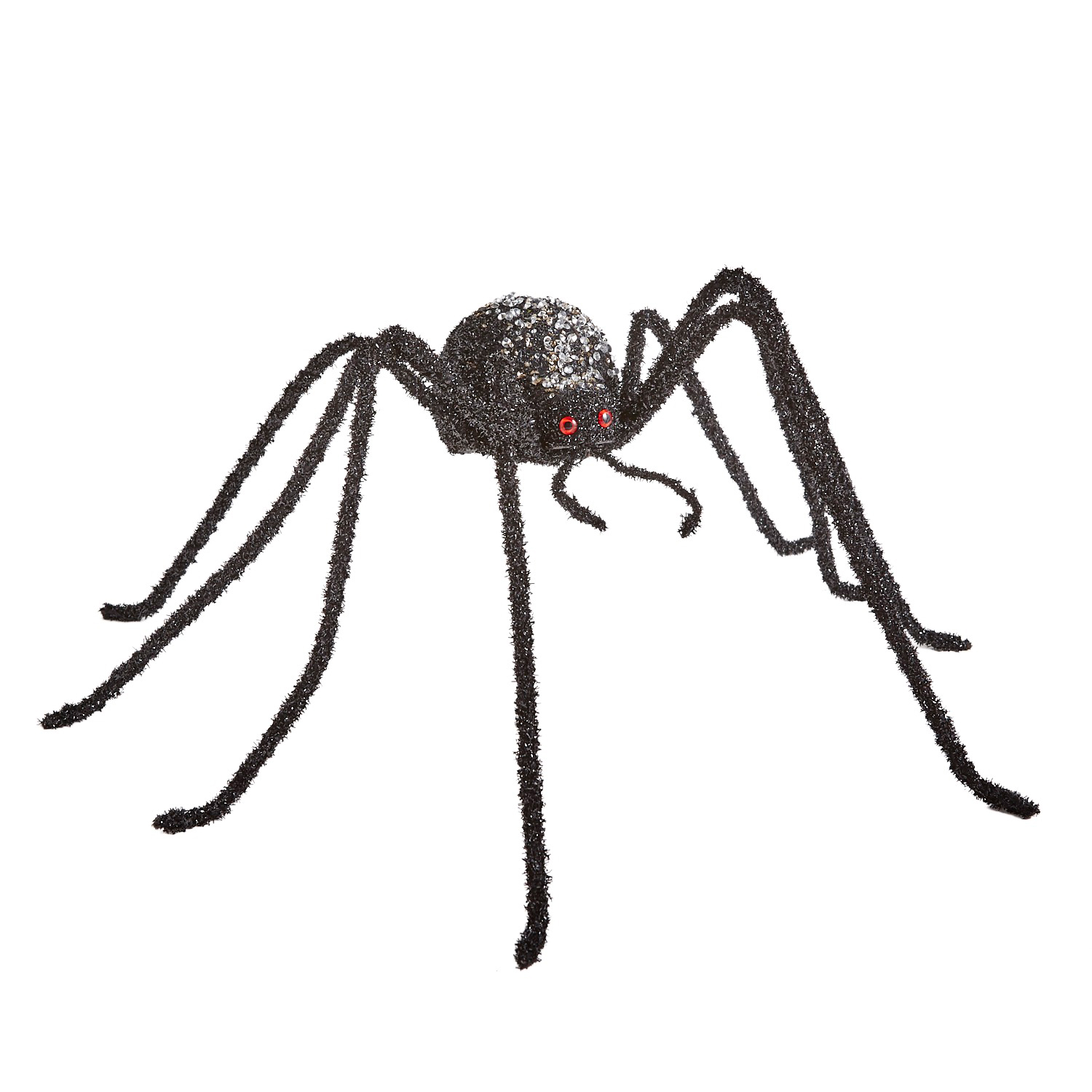 Sequined Large Spider Halloween Decor