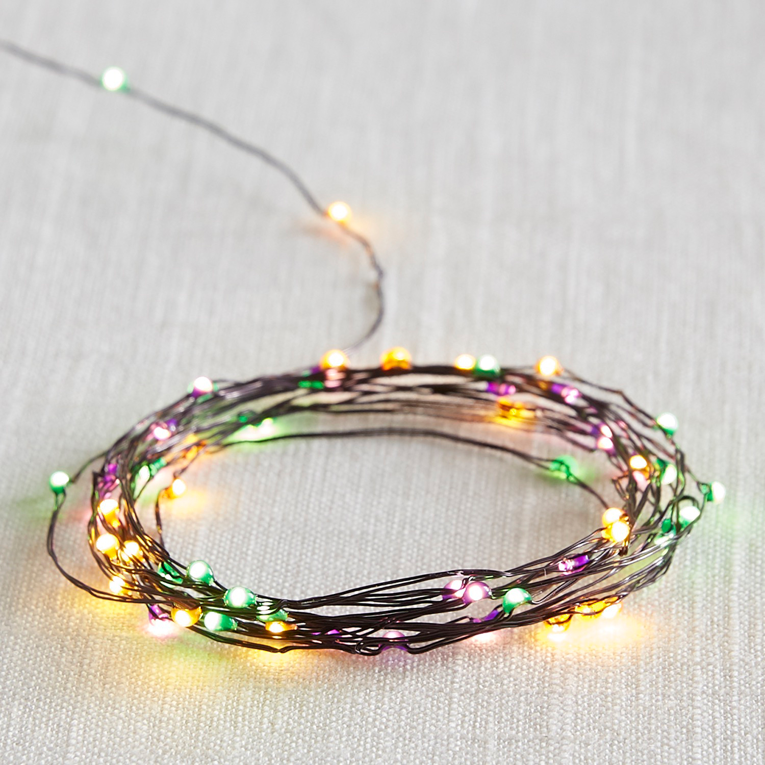 Halloween Multicolor 10' LED Glimmer Strings®
