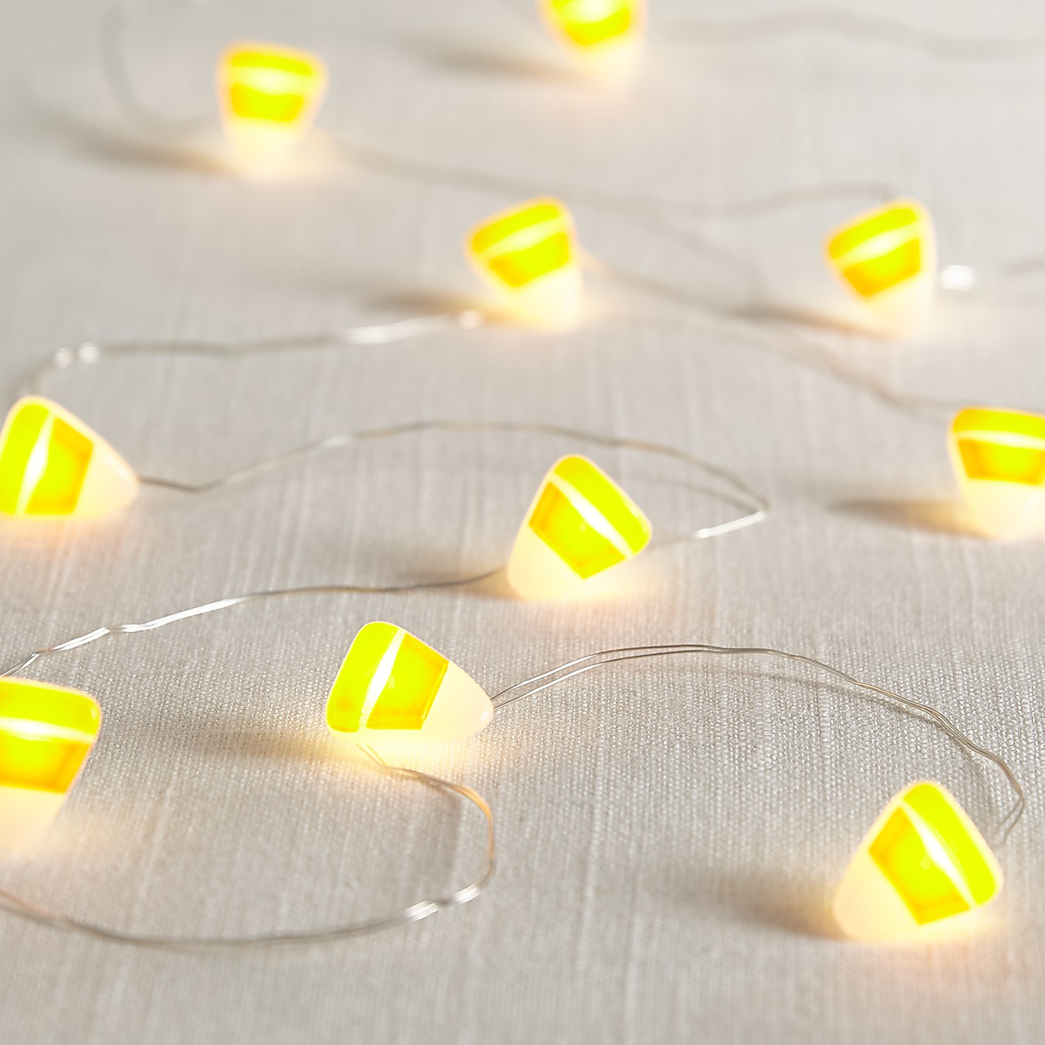 Halloween Candy Corn 5' LED Glimmer Strings®