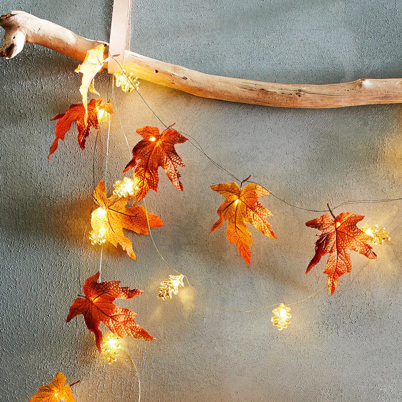 Maple Leaf 10' LED Glimmer Strings®