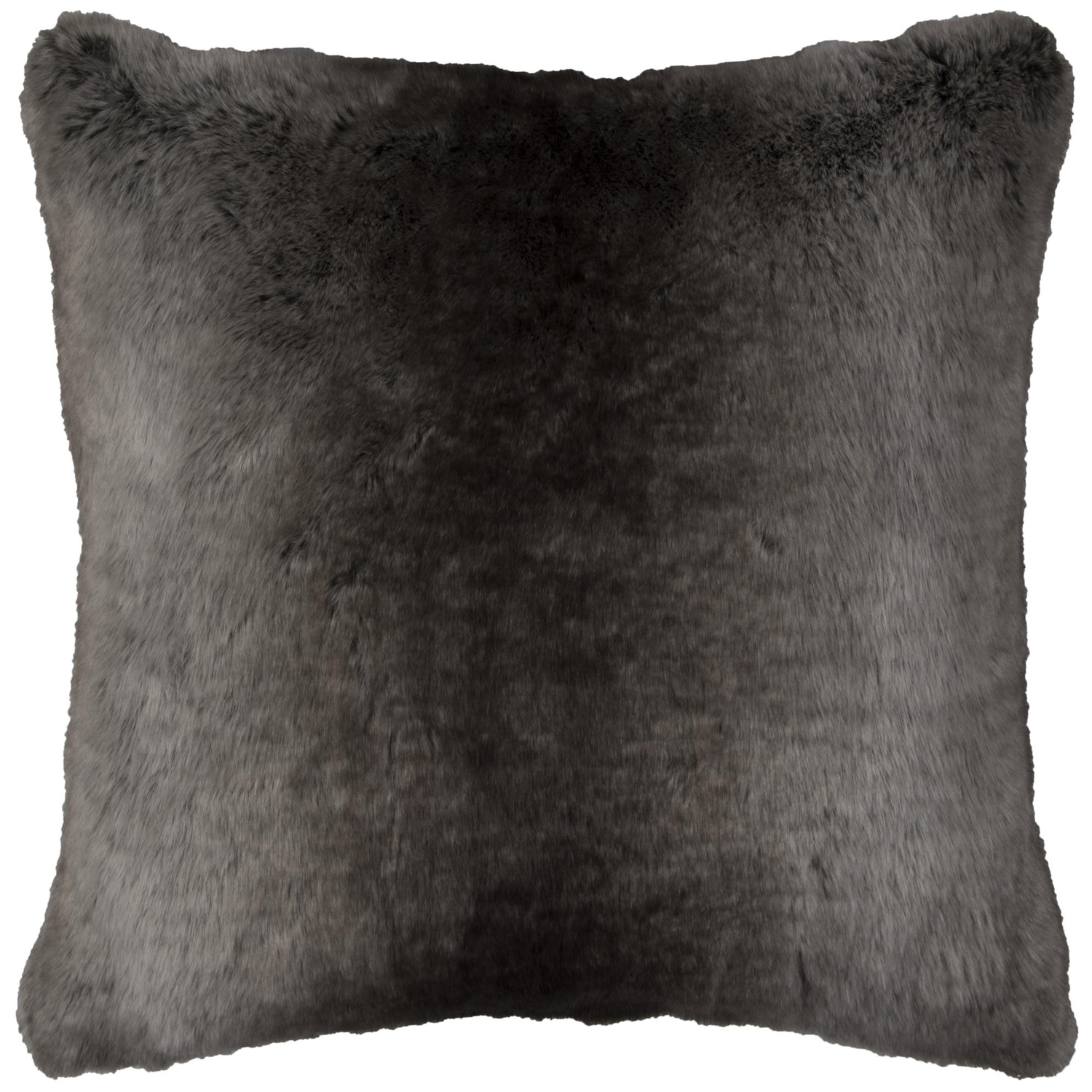 Faux Fur Taupe Pillow Cover