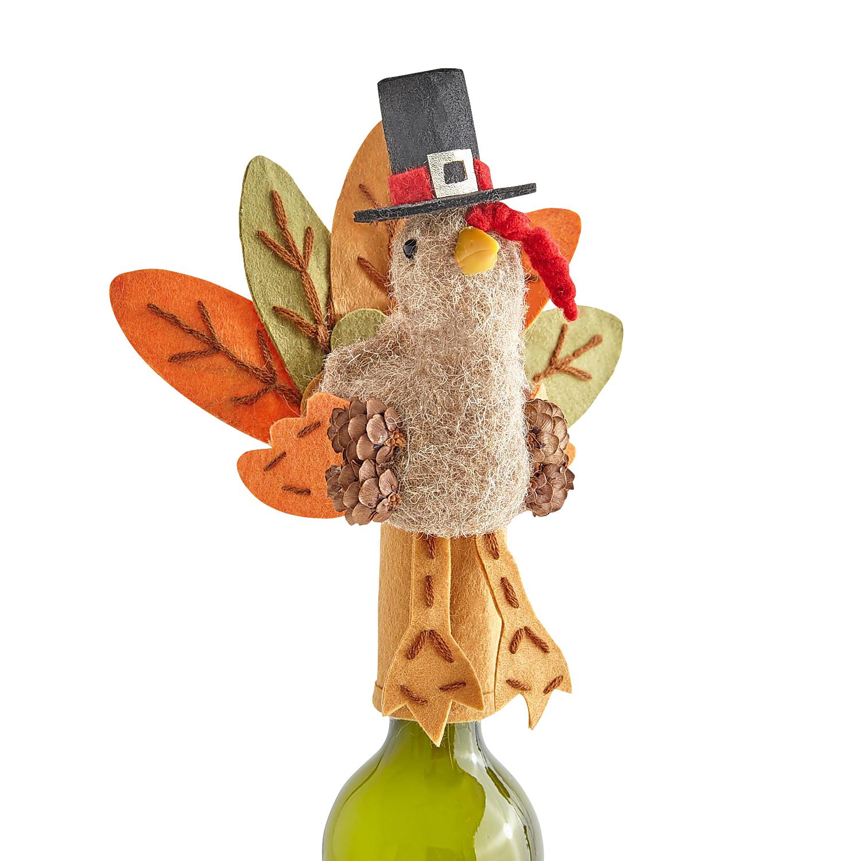 Harvest Turkey Bottle Topper