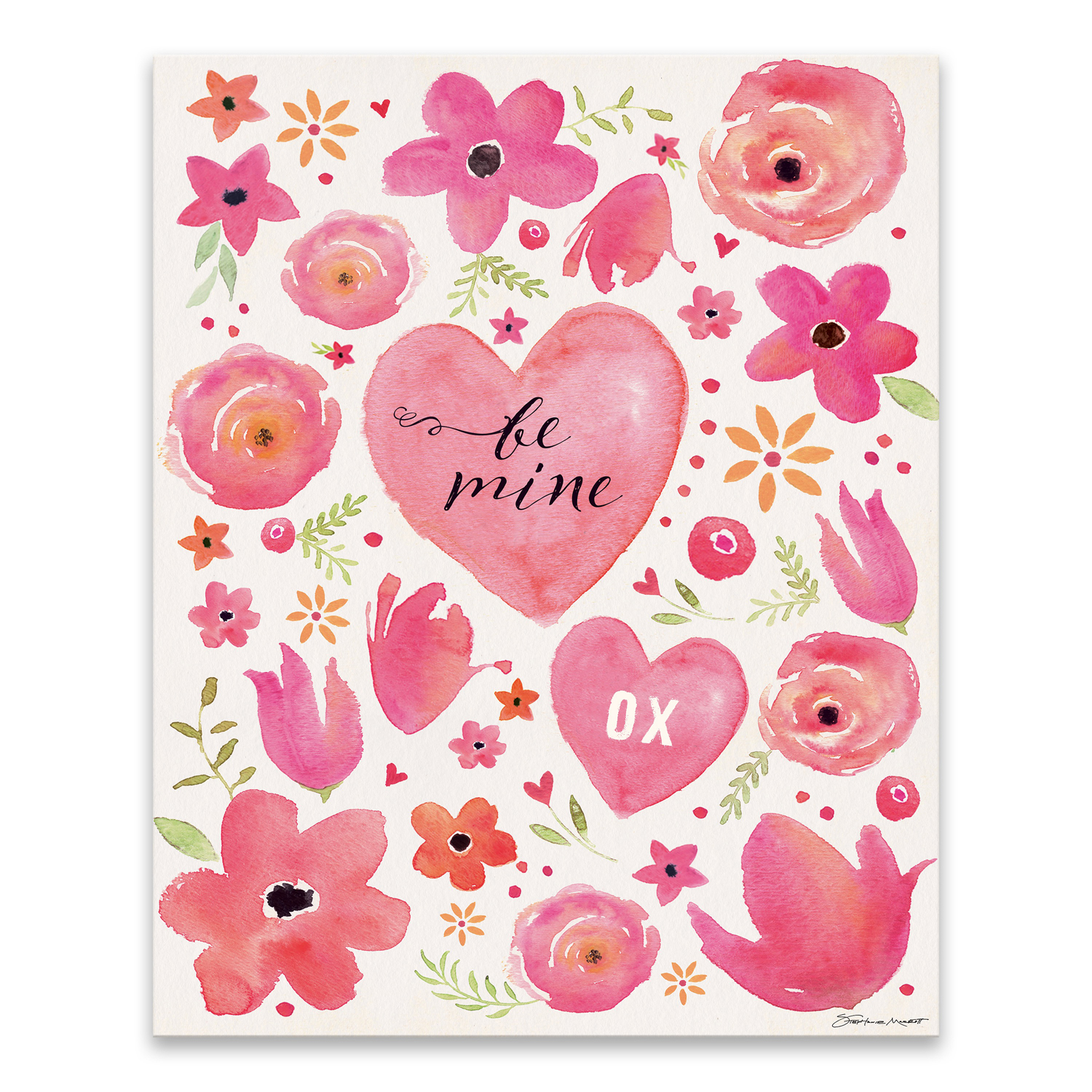 Be Mine Canvas Wall Art