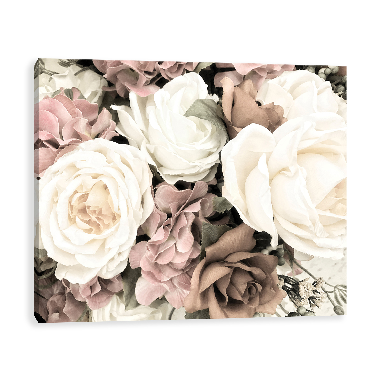Bouquet of Roses Canvas Wall Art