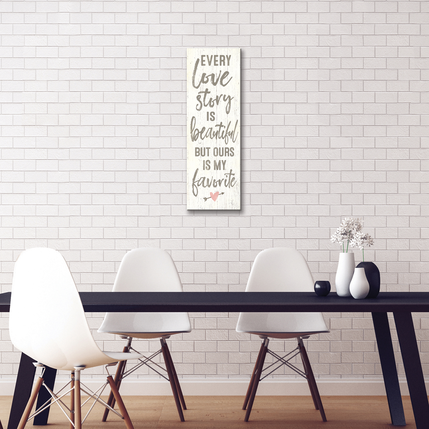 Every Love Story Canvas Wall Art