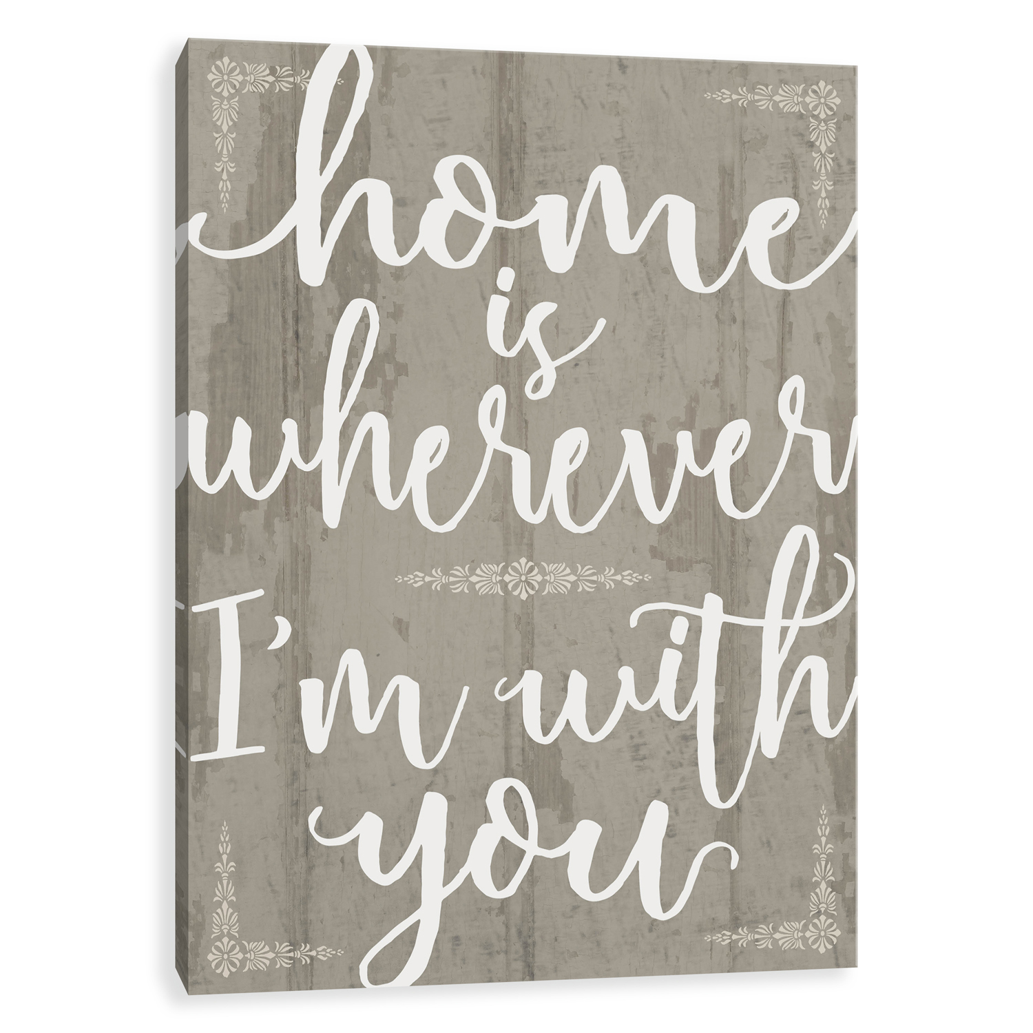 Home with You Canvas Wall Art