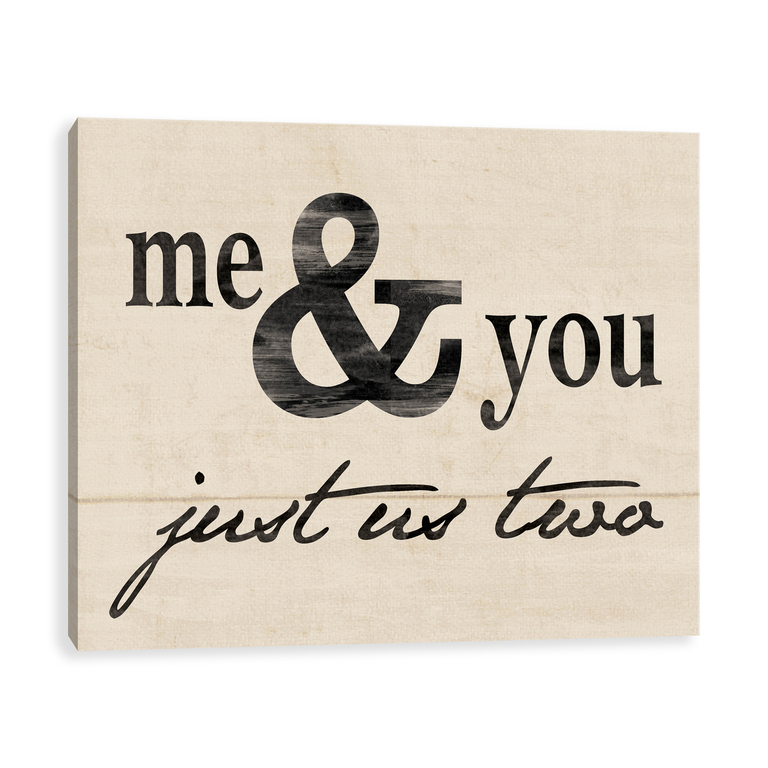 Me & You Canvas Wall Art