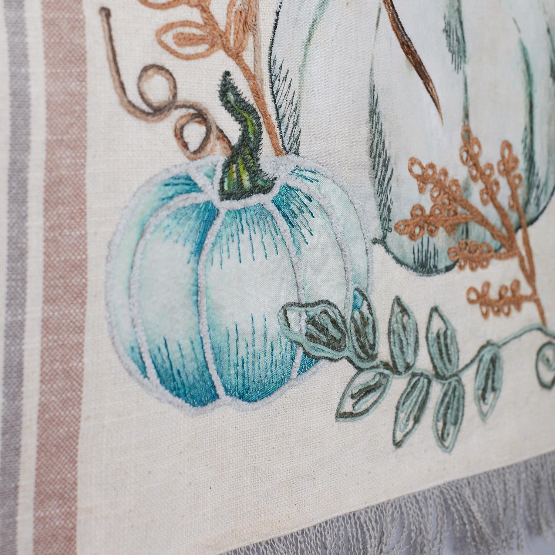 """72"""" Embellished Harvest Table Runner"""