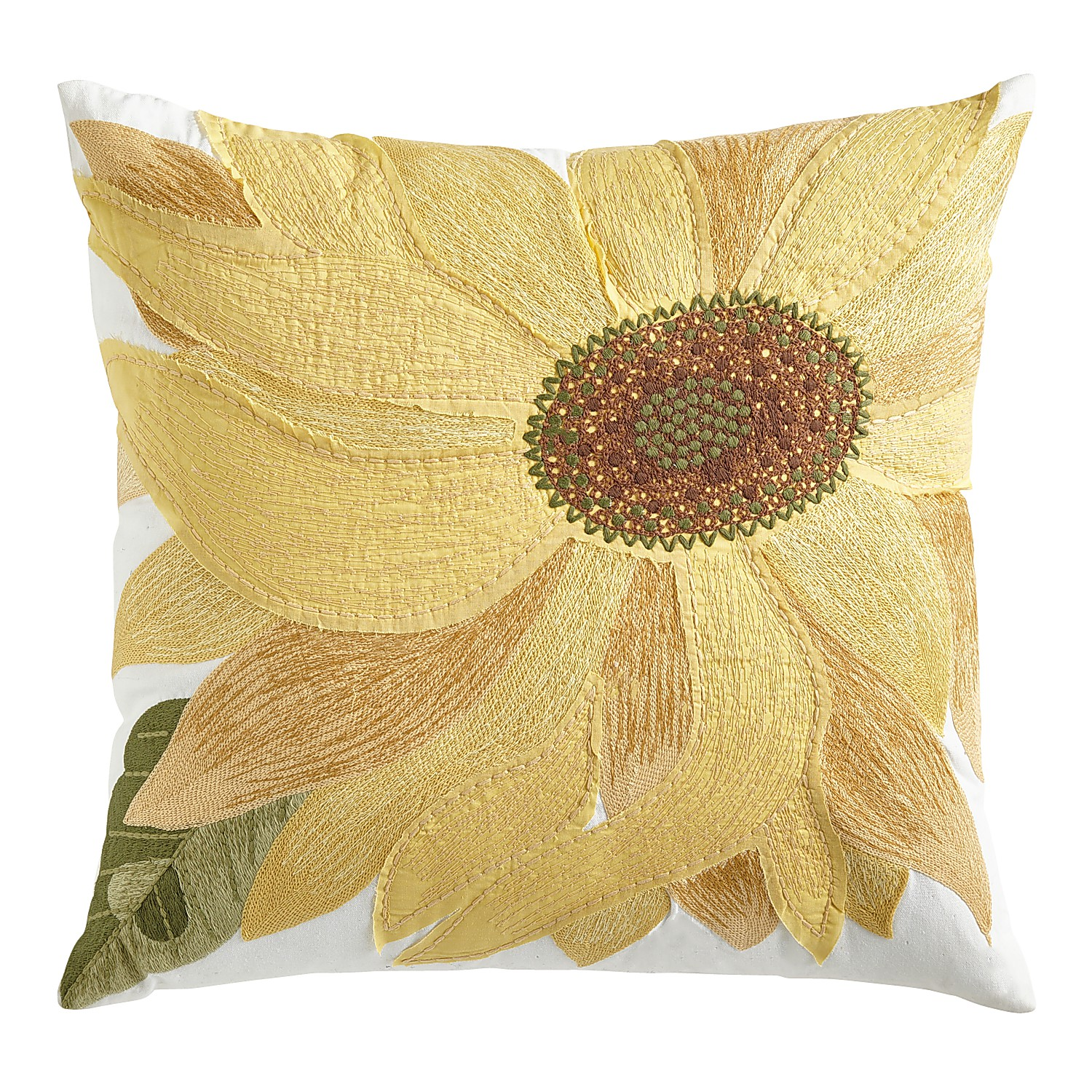 variation thumbnail of Yellow Sunflower Pillow