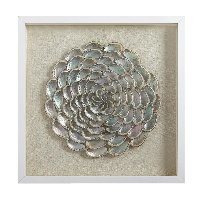 Seashell Shadowbox Art