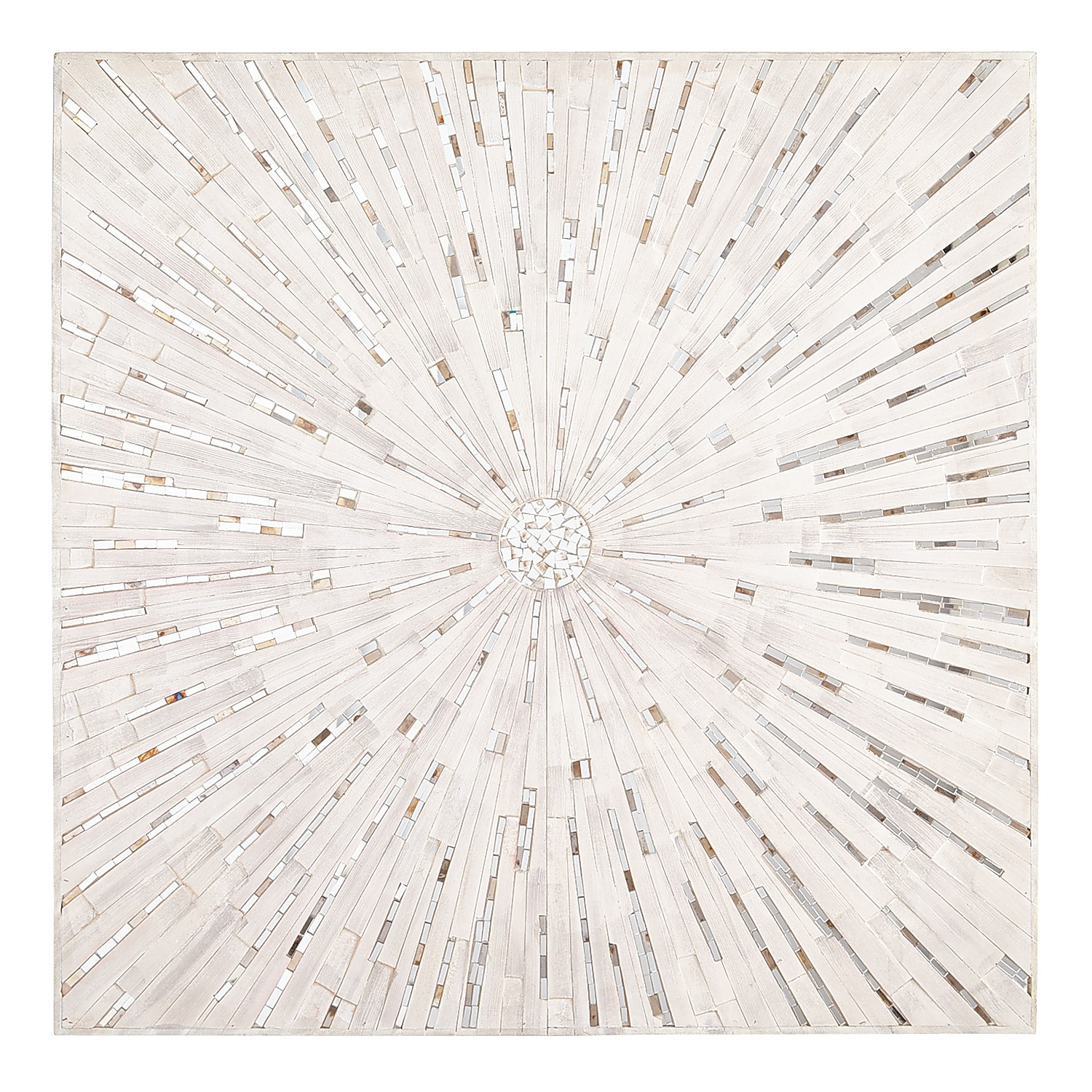 Mosaic Burst Wall Panel