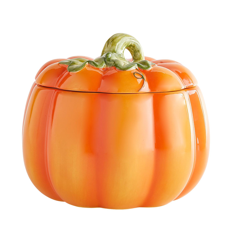 Harvest Pumpkin Cookie Jar