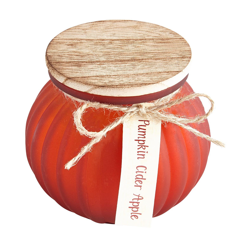 Pumpkin Cider Apple Filled Candle