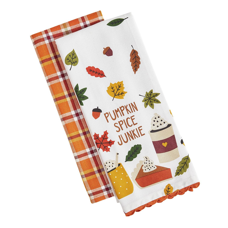 Pumpkin Spice Tea Towel Set