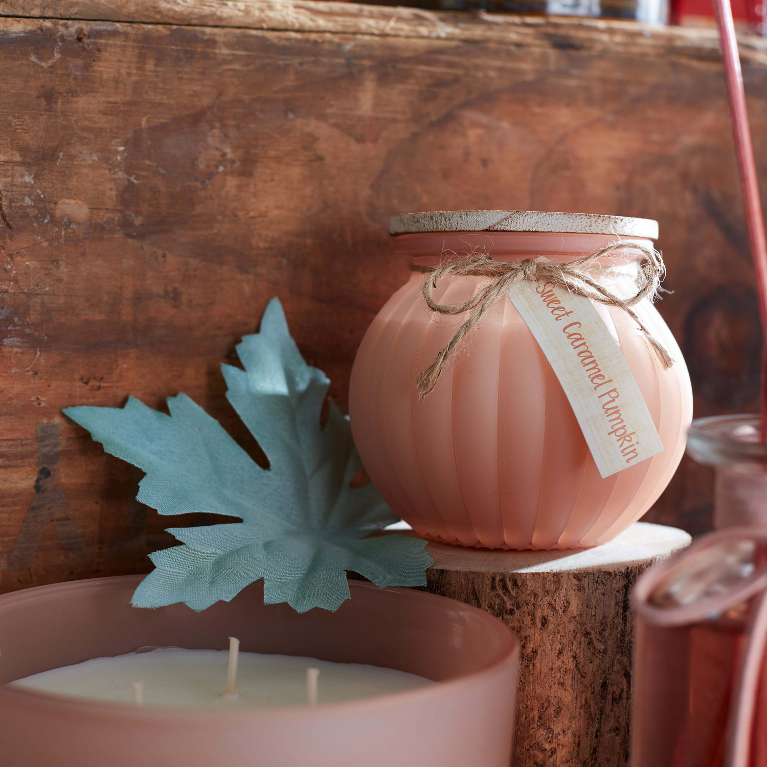Sweet Caramel Pumpkin Filled Candle
