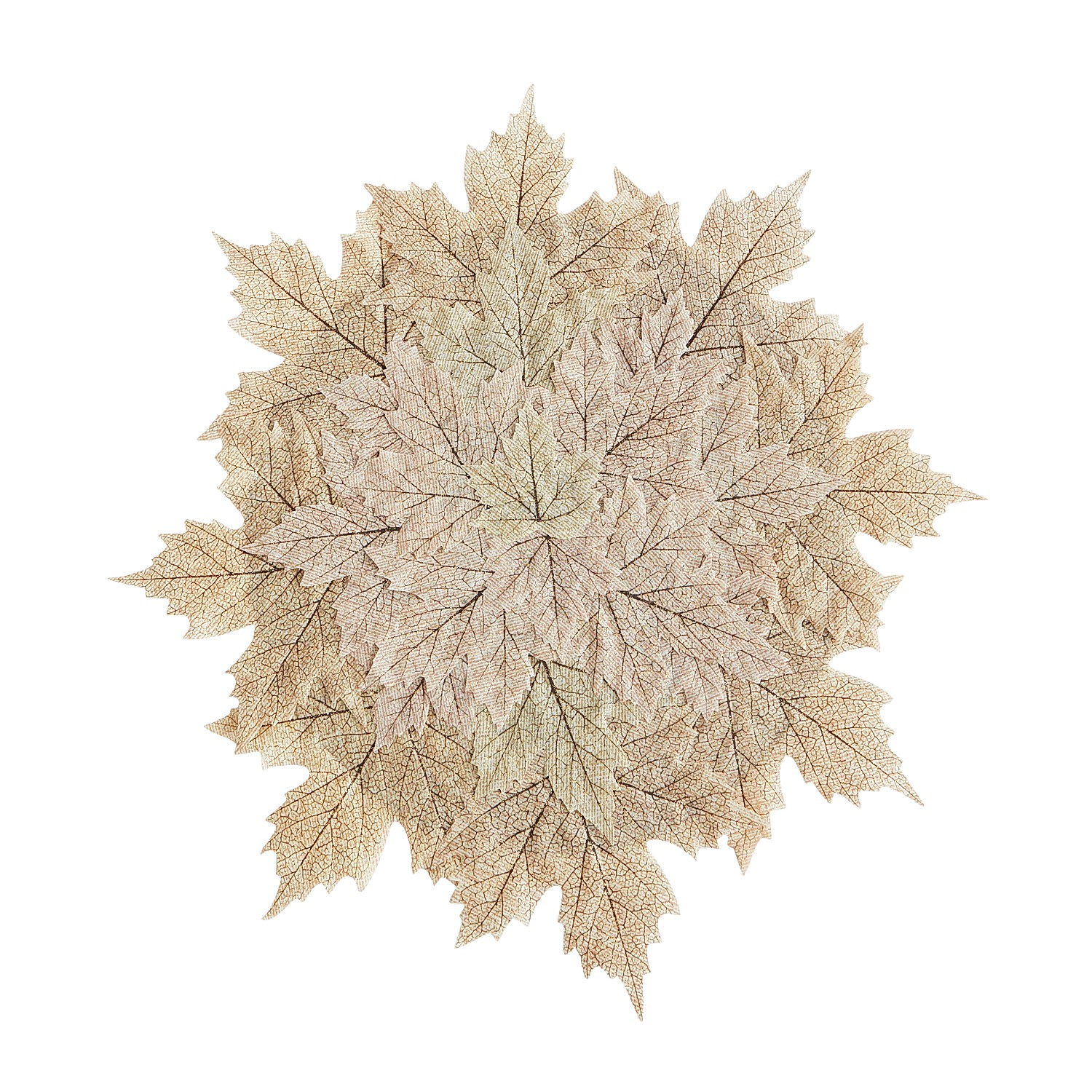 Natural Maple Leaves Placemat